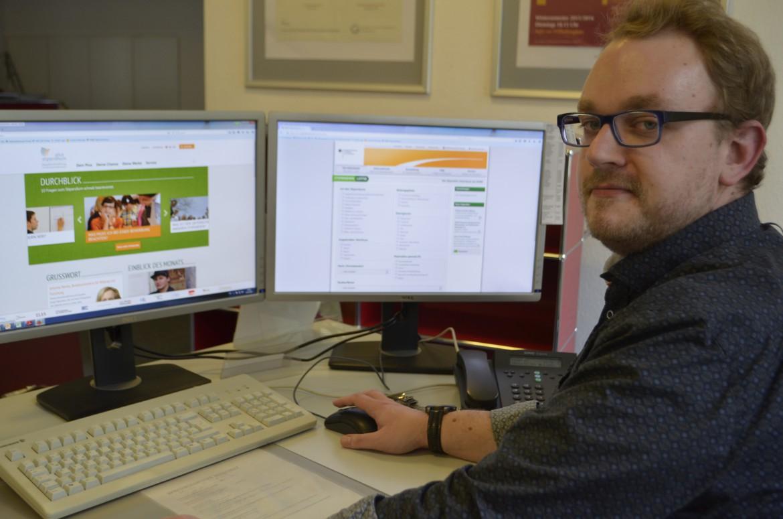 Sjard Tankred Seibert  - Stipendienberatung in der Studienzentrale